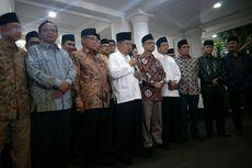 Wapres dan Pimpinan Ormas Islam Dorong Jokowi dan Prabowo Segera Bertemu