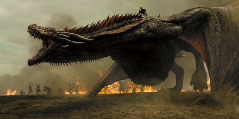 Penggambaran naga dalam serial Game of Thrones