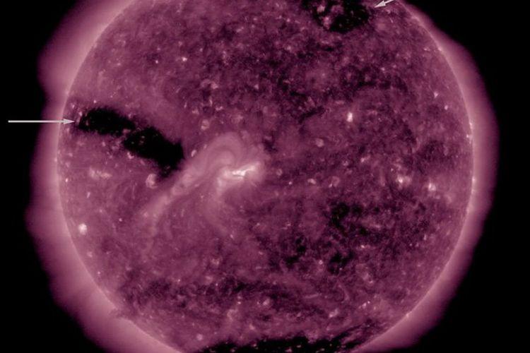 3 lubang matahari