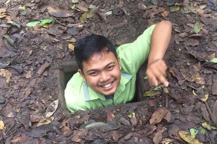 Saat memasuki terowonga Chu Chi.