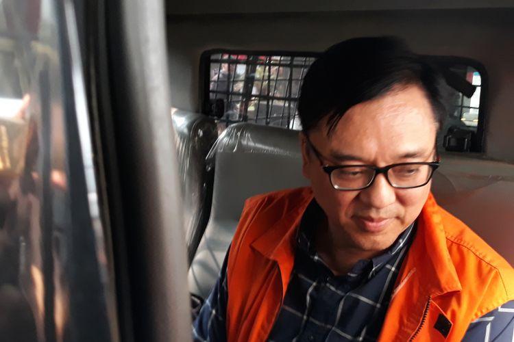 Direktur Operasional Lippo Group Billy Sindoro resmi menjadi tahanan Komisi Pemberantasan Korupsi (KPK), Selasa (16/10/2018).