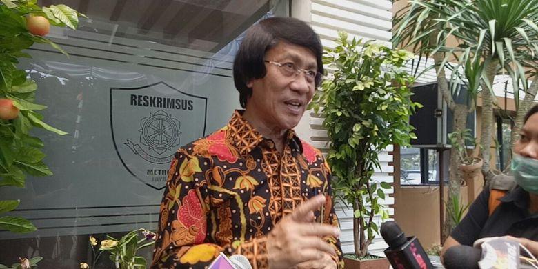 Kak Seto saat diwawancarai di Polda Metro Jaya, Jakarta Selatan, Jumat (25/8/2017).