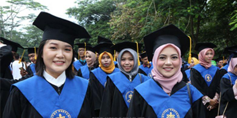 Institut Pertanian Bogor (IPB) kembali menggelar upacara wisuda, (16/1/2019) di Graha Widya Wisuda, Kampus IPB Dramaga, Bogor.