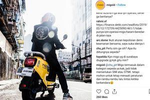 Polisi Akan Amankan Pengendara Sepeda Listrik Migo jika Beredar di Jalan Raya Jakarta