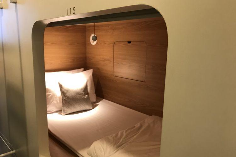 Mengapa Orang Jepang Menginap di Hotel Kapsul? Ini Jawabannya…