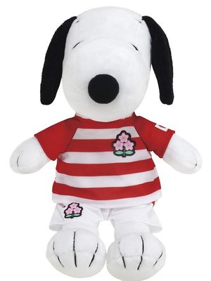 """Boneka Snoopy"" (3,100 yen) dengan panjang keseluruhan 25cm"