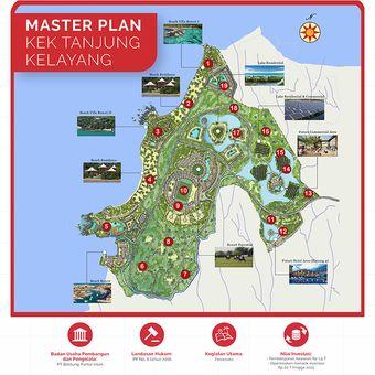 Master Plan Kawasan Ekonomi Khusus (KEK) Tanjung Kelayang yang ada di Provinsi Kepulauan Bangka Belitung.