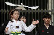Atlet Taekwondo Korea Atraksi di Hadapan Paus Fransiskus