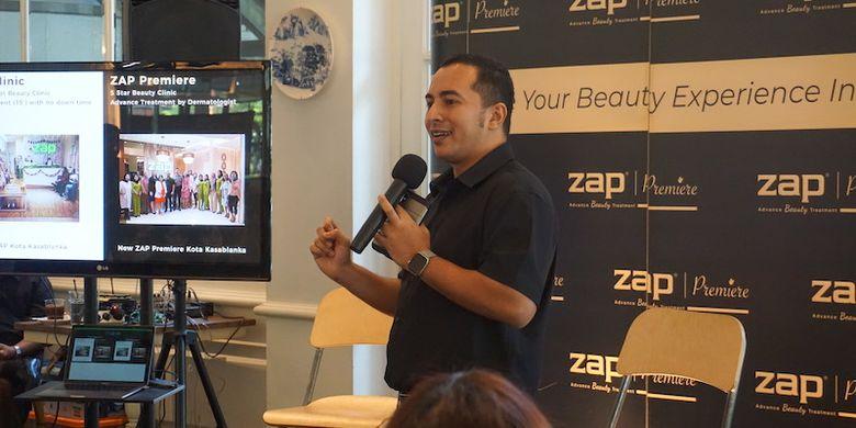 CEO ZAP Clinic, Fadly Sahab.
