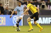 Man City Kalah dari Dortmund, Guardiola dan Mahrez Tetap Puas
