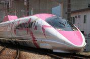 Shinkansen Bertema Hello Kitty Mulai Beroperasi di Jepang