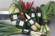 Supermarket di Bali Pakai Daun Pisang sebagai Pengemas Sayuran