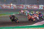 Pebalap MotoGP Uji Coba Lintasan Basah di Qatar