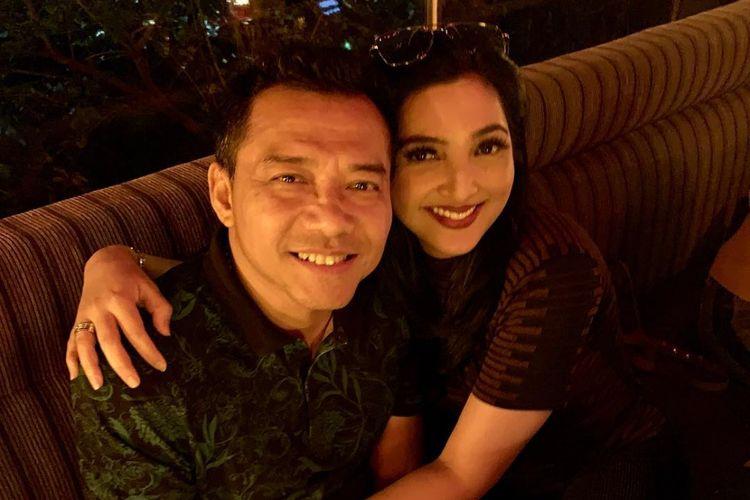 Pasangan selebritas Anang Hermansyah dan Ashanty.
