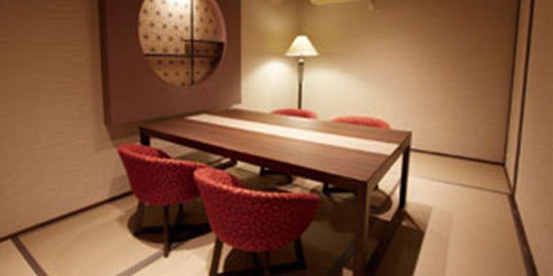 ruang privat di restoran Shisa-afure