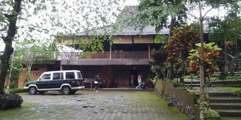 Penginapan di Desa Wisata Kampoeng Djowo Sekatul di Kendal, Jawa Tengah, Minggu (4/2/2018).