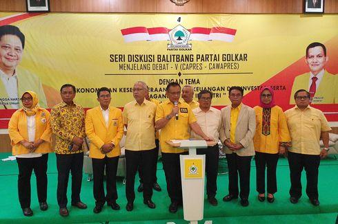 Jelang Debat Terakhir, Partai Golkar Gelar FGD untuk Bahan Masukan bagi Jokowi-Ma'ruf