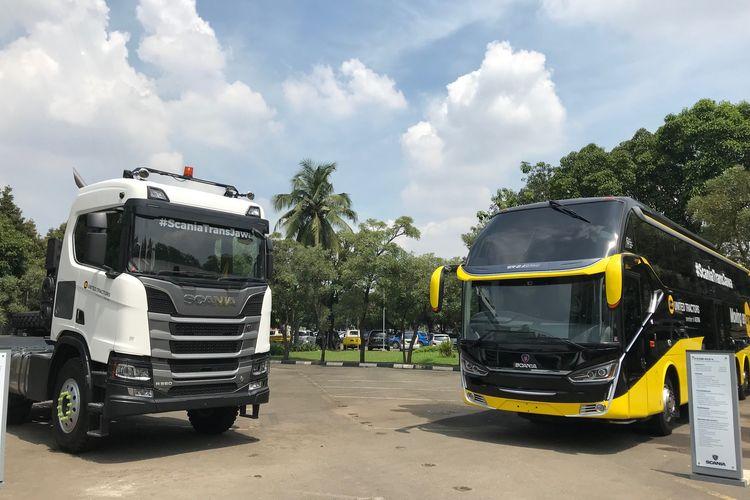 Bus dan Truk Scania untuk Tol Trans Jawa
