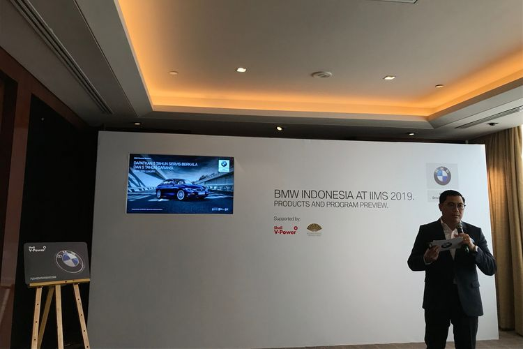 Penjelasan BMW Group Indonesia untuk IIMS 2019