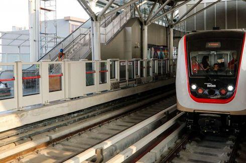 Menanti LRT Jakarta Beroperasi Bulan Depan...