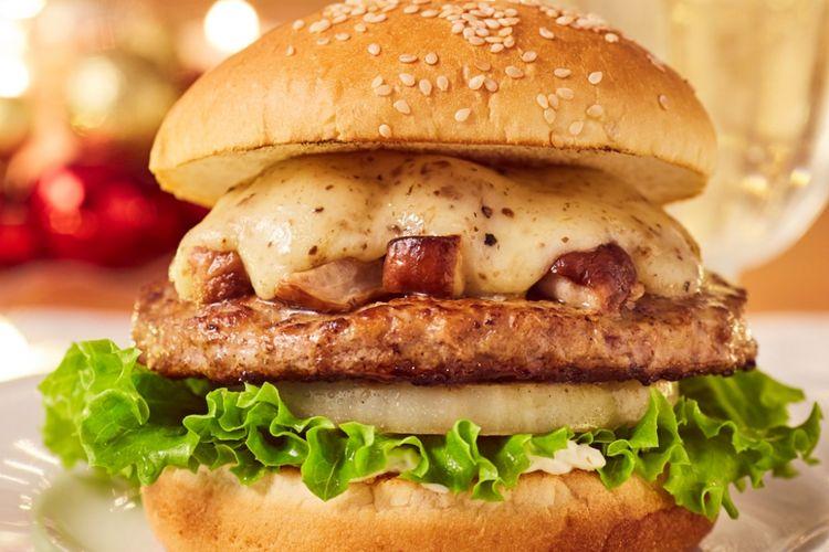 Porchini Truffle Burger