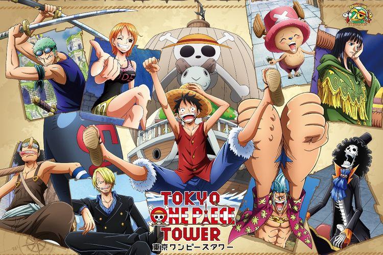 """acara spesial untuk merayakan 20 tahun peringatan anime """"Cruise History"""" dan  """"One Piece Live Attraction """"Marionette""""."""