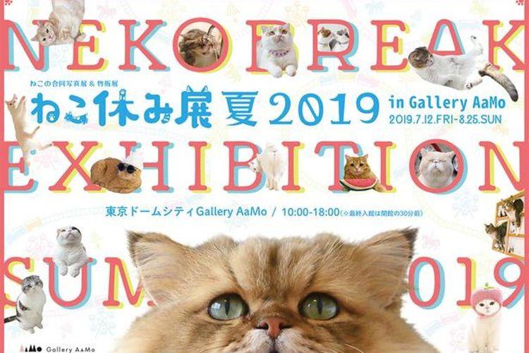 Event Neko Break Exhibition Summer 2019 yang semakin besar.