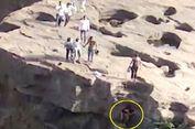 Seorang Turis Mabuk Jatuh dari Air Terjun Setinggi 21 Meter