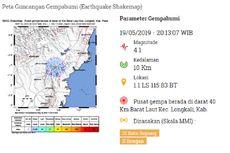 Gempa Hari Ini: Lindu Kerak Dangkal Guncang Kalimantan Timur
