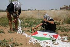 Militer Israel Tidak Lagi Bidik Warga Gaza yang Terbangkan Layang-layang