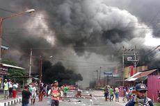 Wagub Papua Barat Cek Fasilitas Umum yang Terbakar di Manokwari