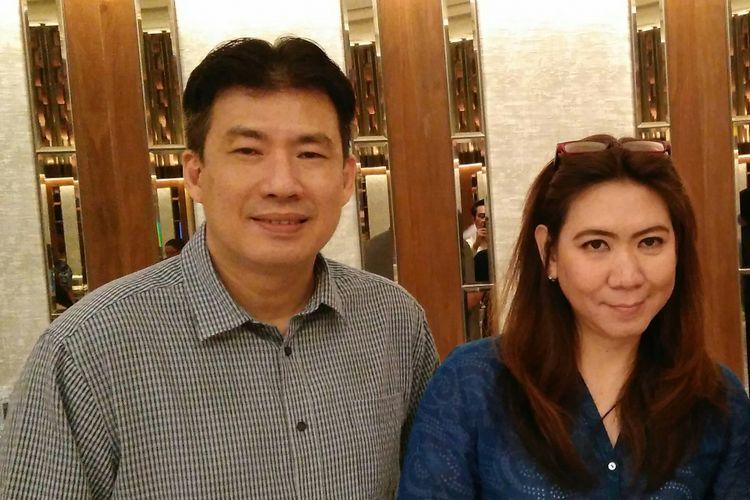 Mantan Atlet Bulutangkis Indonesia Alan Budikusuma dan Susi Susanti yang sukses menjalankan bisnis perlatan olahraga dengan merek Astec.
