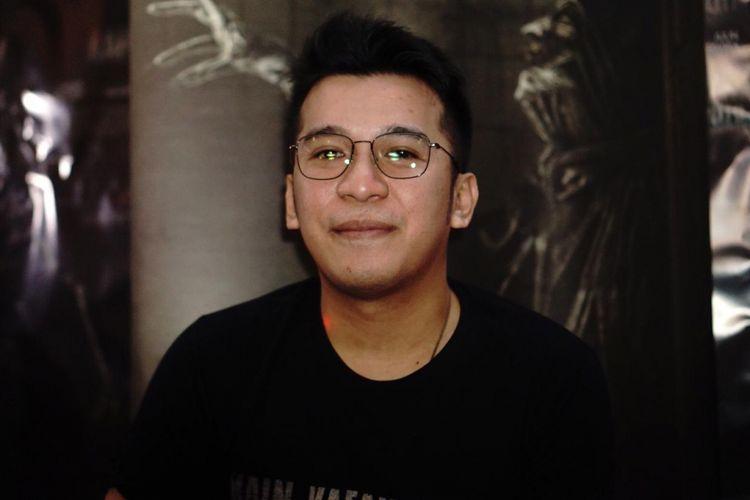 Produser film Girry Pratama saat ditemui usai press screening film Kain Kafan Hitam di XXI Epicentrum, Kuningan, Jakarta Selatan, Senin (11/1/2019).