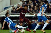 Chelsea Vs Barcelona, Peran Paulinho untuk Lionel Messi