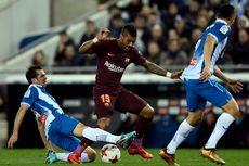 Cedera Tak Parah, Paulinho Ikuti Sesi Latihan Barcelona