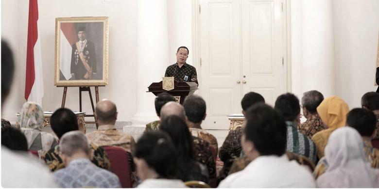 Kerja sama nota kesepahaman Direktur Jenderal Guru dan Tenaga Kependidikan Kemendikbid dan Gubernur DKI Jakarta di Balairung Balai Kota Pemerintah Provinsi DKI Jakarta (17/1/2019).