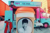Lee Seung Gi Kirim Food Truck untuk IU di Lokasi Shooting