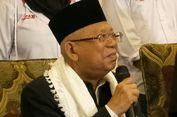Ma'ruf Amin: Januari Saya Akan Turun ke Daerah-daerah