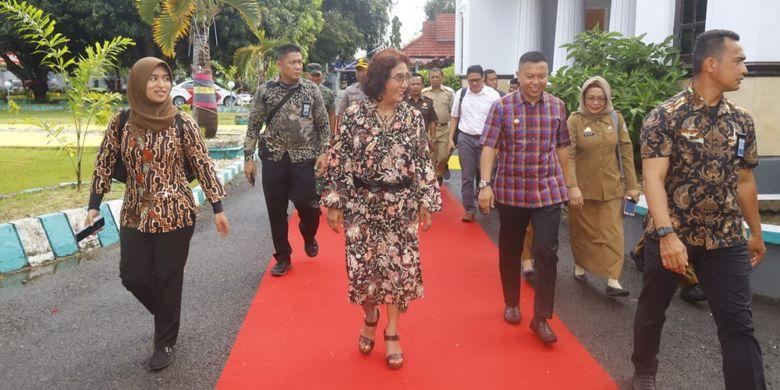 Menteri Susi Puji Potensi Kelautan Kabupaten Kepulauan Selayar