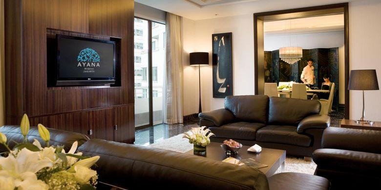 Ayana Suite di Ayana Midplaza Jakarta.