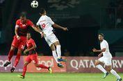 Asian Games 2018, Hansamu Minta Maaf setelah Kalah dari Palestina
