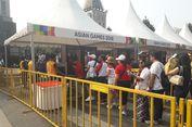 Pintu Dibuka, Warga Mulai Masuk GBK untuk Nonton Pembukaan Asian Games