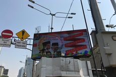 KPU DKI Sebut Pemasangan Videotron Jokowi-Ma'ruf di Jalan Protokol Langgar Aturan
