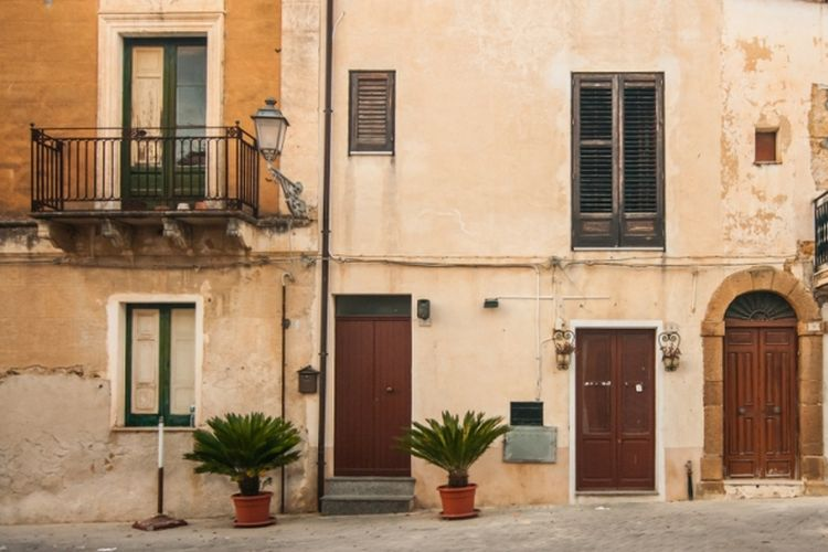 Rumah di Sambuca di Sicilia, Italia. (Shutterstock)