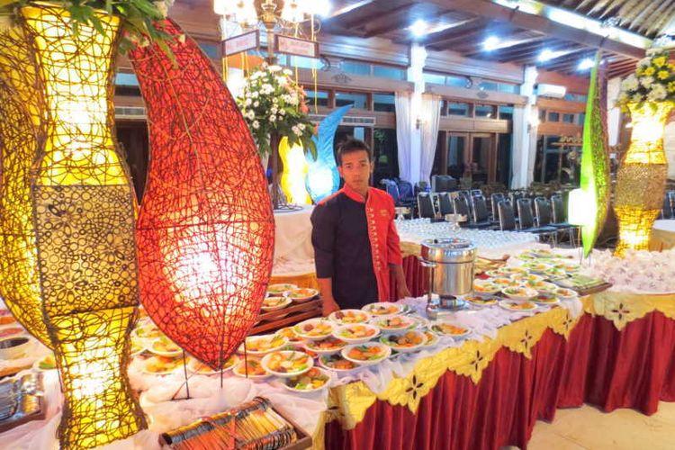 Layana katering Chili Pari di Solo, Jawa Tengah.