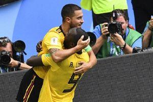 Menangkan Belgia, Hazard-Lukaku Bikin Tunisia Tersisih