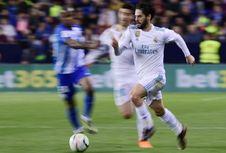 Isco: Semoga Zidane Akan Kembali Suatu Hari Nanti