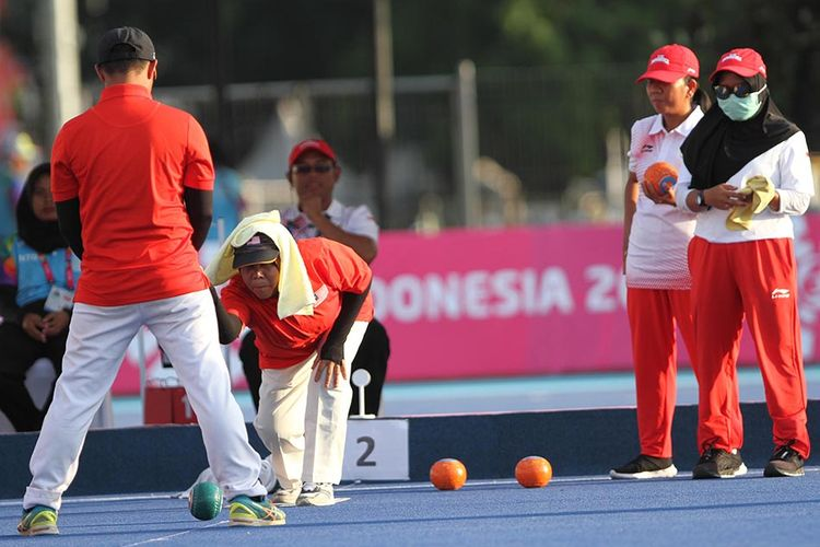 Asian Para Games, Julia Verawati Sumbang Emas Keempat dari Lawn Bowls