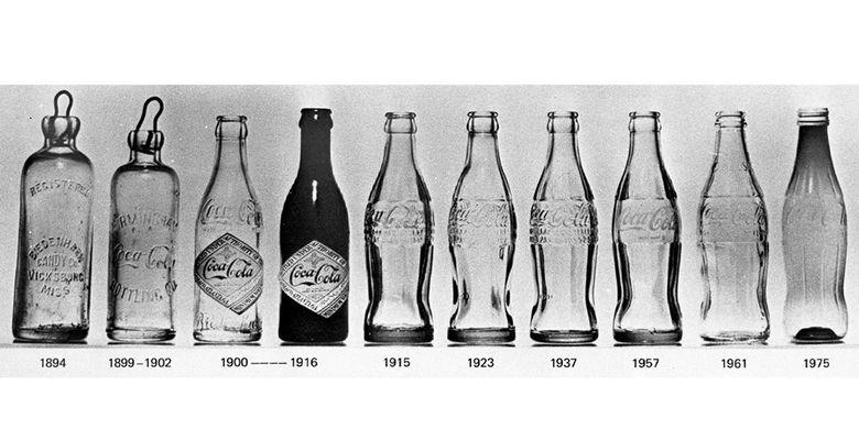 Perubahan botol Coca-Cola