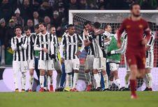 Hasil Liga Italia, Juventus Menang Tipis atas AS Roma